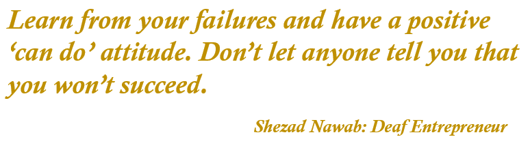 Quote from Shezad Nawab